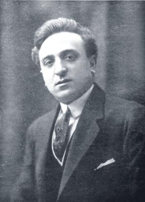 Roberto Roberti - Roberti in 1918