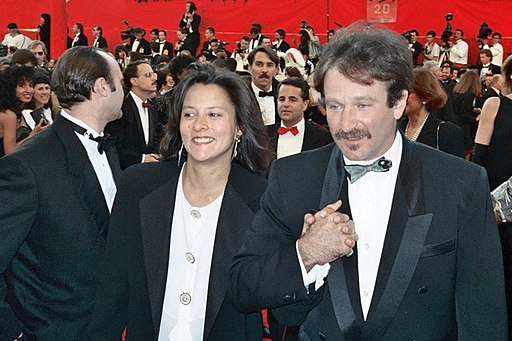 Robin and Marsha Williams (cropped)