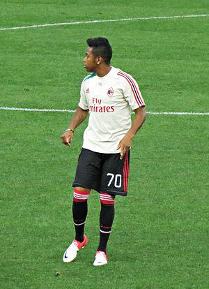 Robinho - Robinho with Milan in 2012
