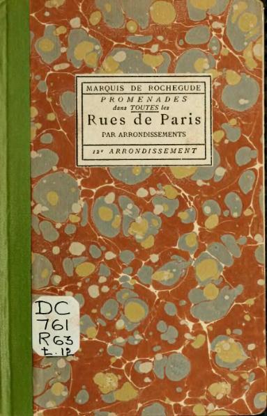 File:Rochegude - Promenades dans toutes les rues de Paris, 12.djvu