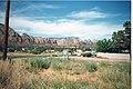 Rock Formations at Sedona, Arizona, 1991.jpg