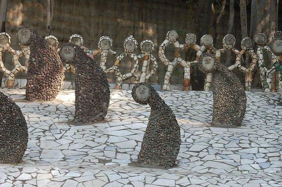 Rock Garden, Chandigarh-statues