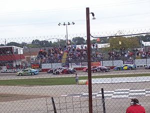 Rockford Speedway - 2008 field