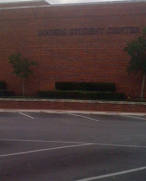 Tyler Junior College - Rogers Student Center located on the main campus.