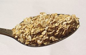 Rolled oats - Image: Rolled oats
