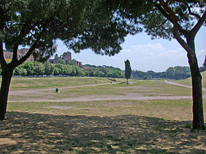 Circus (building) - The site of the former Circus Maximus in modern-day Rome
