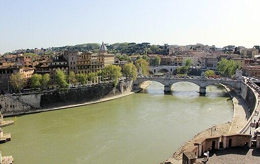 Roma Andělský hrad view 6