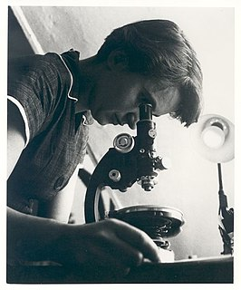 Rosalind Franklin in 1955