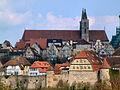 Rothenburg ob der Tauber, Burggasse mit Stadtmauer, 2001-001.jpg