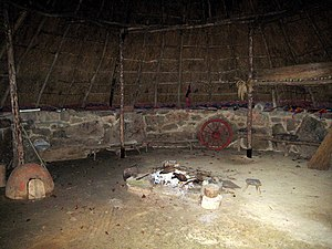 Bodrifty - Image: Roundhouse interior at Bodrifty geograph.org.uk 1617163