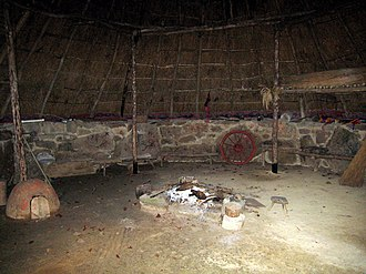 Bodrifty - Image: Roundhouse interior at Bodrifty geograph.org.uk 1617163