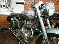 Royal Enfield Bullet 350 1955.JPG