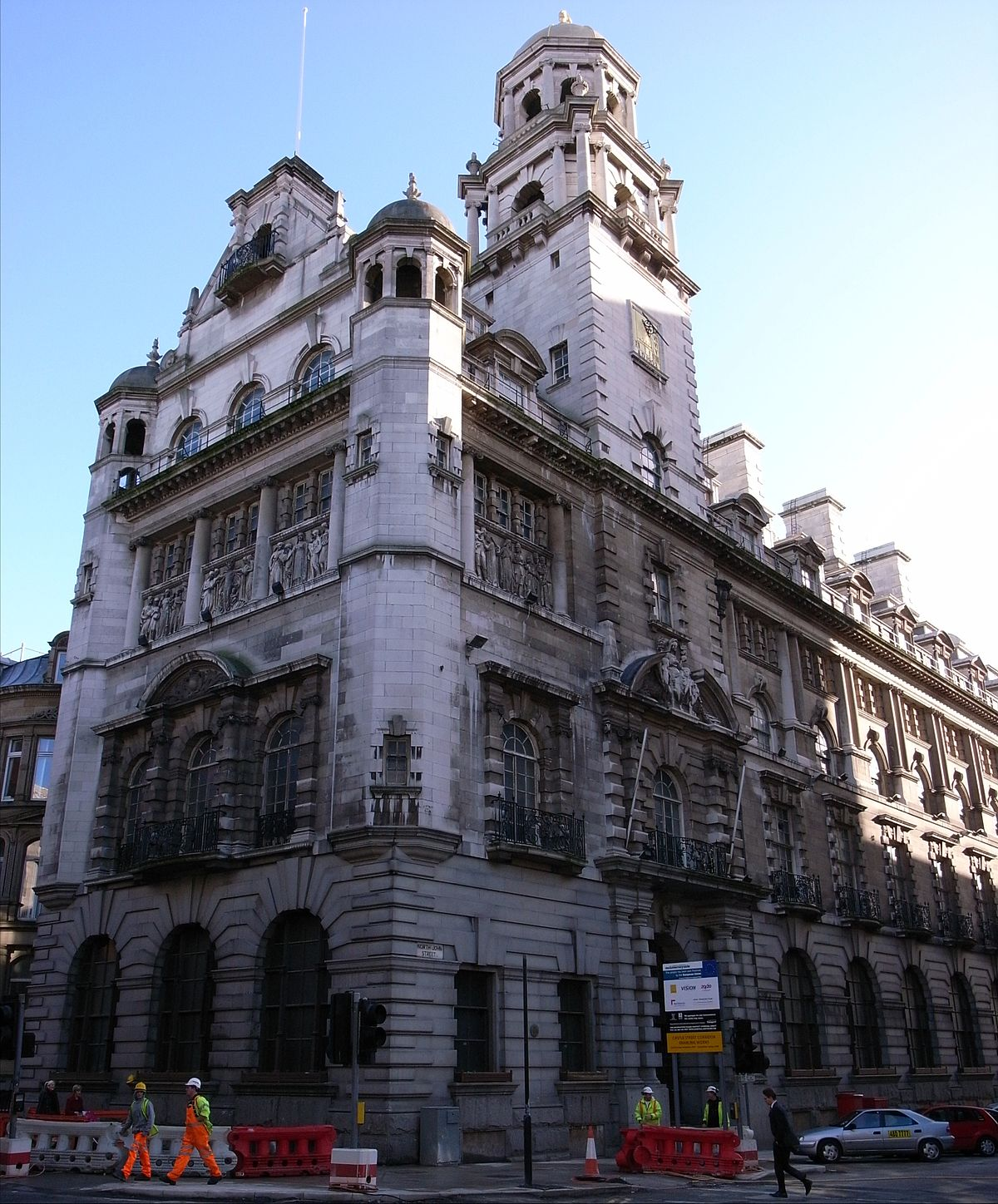 Royal insurance building liverpool wikipedia for House construction insurance