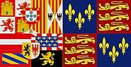 Royal Standard of England (1554-1558)