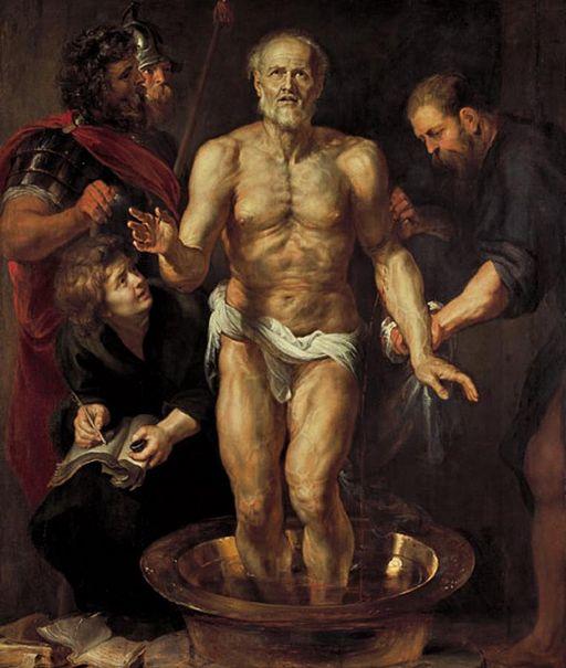 Rubens- Der sterbende Seneca