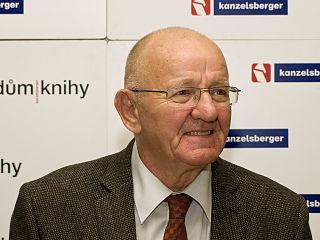Rudolf Křesťan Czech presenter, publicist and writer