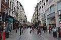Rue des Fripiers (Kleerkopersstraat), вид в сторону Брюссельской фондовой биржи - panoramio.jpg