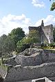 Ruins of castle of Domfront (France).jpg