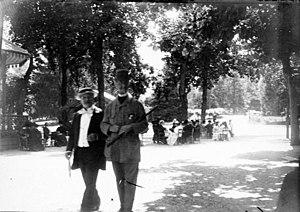 Eugène Trutat - Image: Russel et de Lassus, Luchon, le 28 août 1895