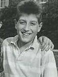 Ryan White at a fundraiser in 1989