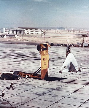 Ryan X-13 Vertijet - 1957 flight test