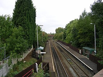 Ryder Brow railway station - Image: Ryder Brow Station