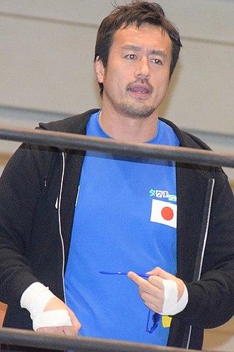 Ryusuke Taguchi - Taguchi in March 2018