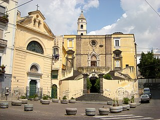 San Giovanni a Carbonara Church in Campania, Italy