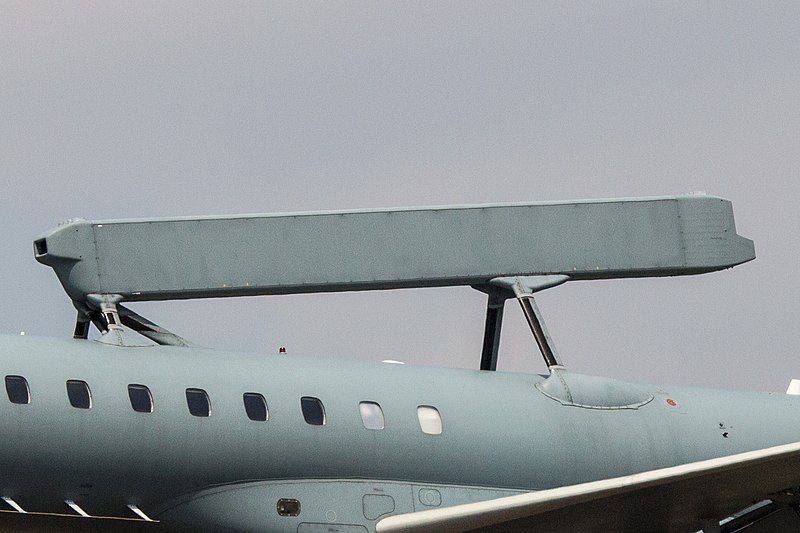 SAAB Erieye AESA radar - Embraer 145SA (Hellenic Air Force).jpg