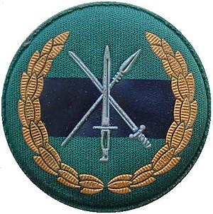 Cape Town Highlanders Regiment - Image: SANDF Infantry wide beret badge
