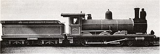 South African type XC1 tender - Type XC1 tender on CGR 6th Class of 1897