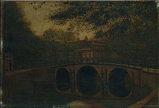 Keizersgracht bij Reguliersgracht te Amsterdam