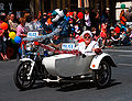 SA police motorbike and sidecar - 2008 Norwood Christmas pageant.jpg