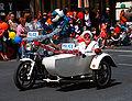 SA police motorbike and sidecar - 2008 Norwood Christmas pageant.jpg