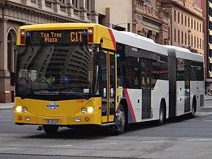 O-Bahn Busway - Scania K320UA