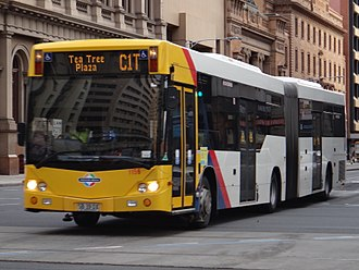 Buses in Adelaide - Light-City Buses Custom Coaches CB60 Evo II bodied Scania K320UA of O-Bahn route C1 (to City).