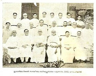 St. Thomas Evangelical Church - clergy in 1961