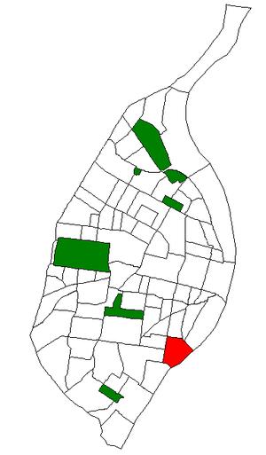 Marine Villa, St. Louis - Image: STL Neighborhood Map 18