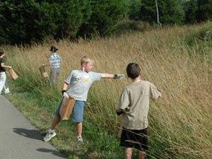 National Public Lands Day - Volunteers at Stones River National Battlefield