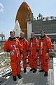 STS-135 crew portrait on Launch Pad 39A.jpg