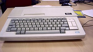 Spectravideo - The SVI-738, a portable MSX computer.