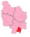 Saône-et-Loire's1stConstituency.png