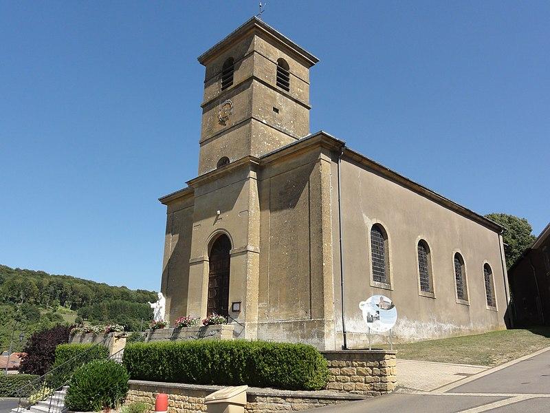 Saint-Pancré (Meurthe-et-M.) église Saint-Pancrace