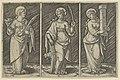 Saint Barbara (left), Saint Catherine, (center), Saint Lucy (right) MET DP853512.jpg