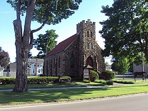 Saint Elizabeth's Church (Tecumseh, Michigan) - Image: Saint Elizabeth Church