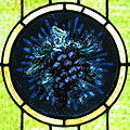 Saint John the Baptist Catholic Church (Dry Ridge, Ohio) - stained glass, grapes.jpg