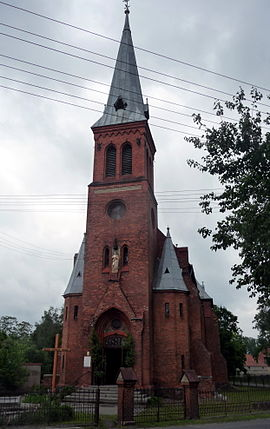Saint Joseph church in Wąsosz, Poland.jpg