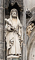 Saint Jude statue, Cathedral, Aachen, Germany.jpg