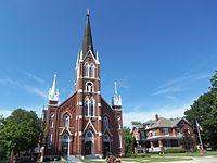 Saint Mary's Church and Rectory - Riverside, Iowa.JPG