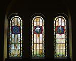 Saint Paul Catholic Church (Westerville, Ohio) - Parlor 1, stained glass.jpg